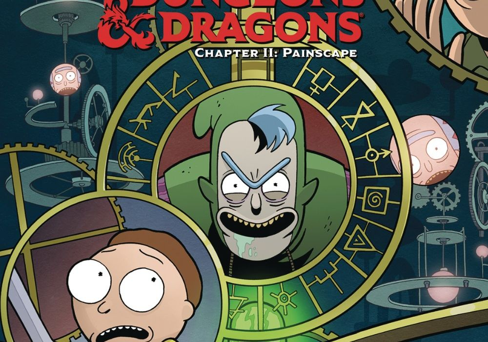 Rick and Morty vs Dungeons & Dragons II #3 featured