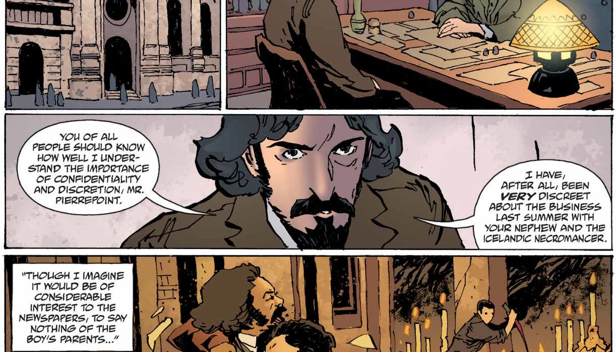 Feature: Witchfinder: The Reign of Darkness #2 (interior)
