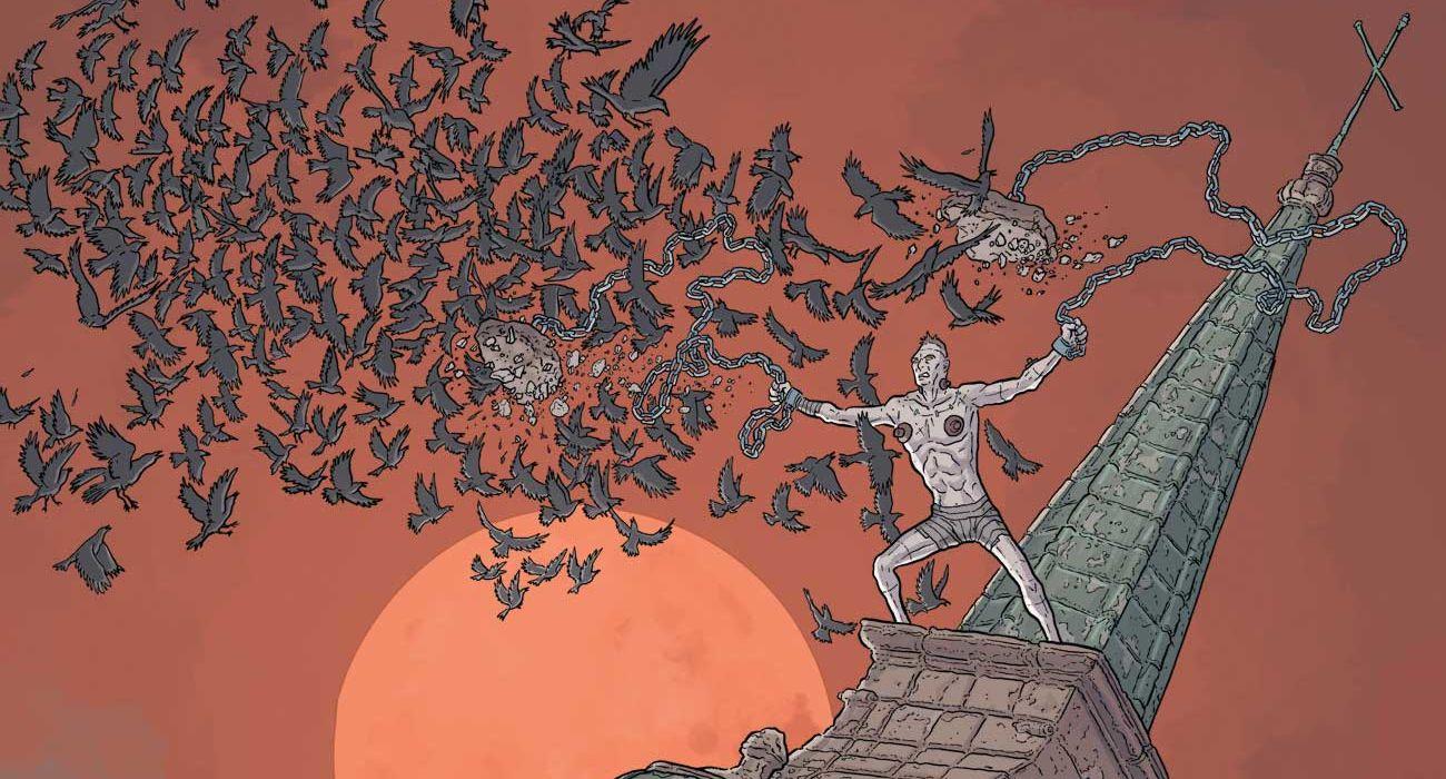 Feature: Frankenstein Undone #5 Darrow variant