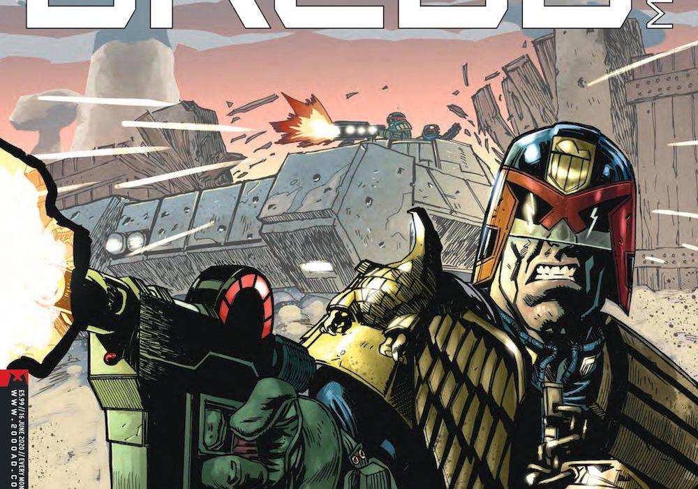 Judge Dredd Megazine 420 Featured