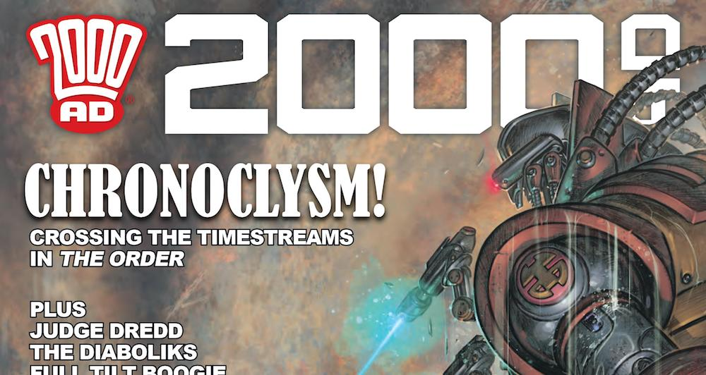 2000 AD Prog 2188 Featured