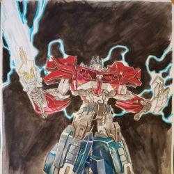 Beast Hunters Optimus Prime by EJ Su featured