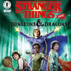 Stranger Things and Dungeons & Dragons issue 1 featured