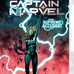 Captain Marvel issue 18 final cover featured