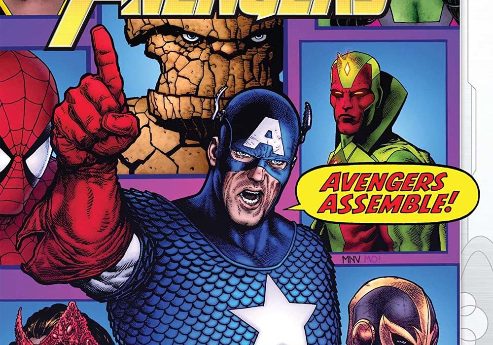 Empyre Avengers issue 1 final cover featured