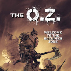 The OZ issue 1 cover featured