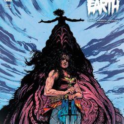 Wonder Woman Dead Earth 4 Featured