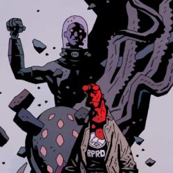 Feature: Hellboy and the B.P.R.D.: 1952–1954 (omnibus cover)