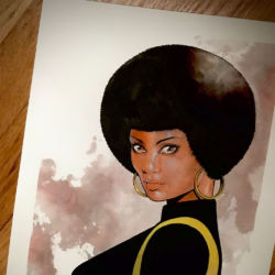Misty Knight by Mike McKone featured