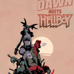 fearless dawn meets hellboy featured