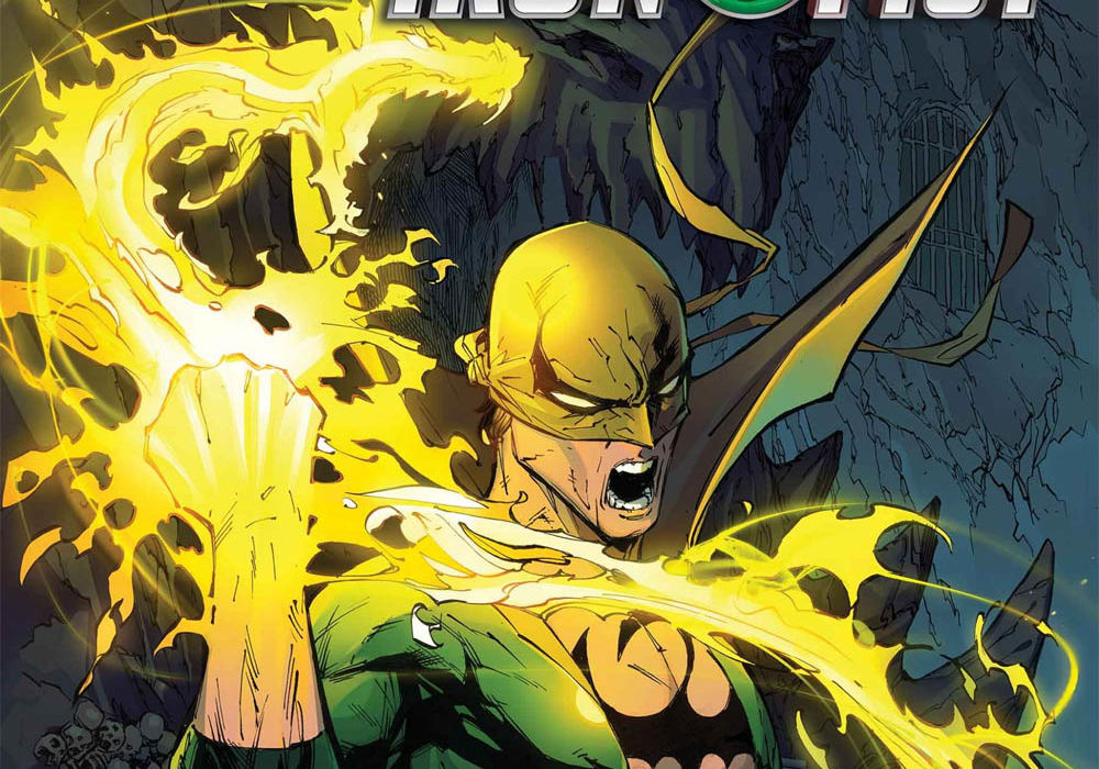 Iron Fist Heart of the Dragon issue 1 featured