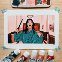 The Shining by Sibylline Meynet