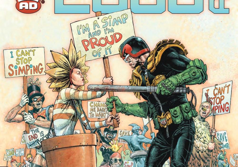 2000 AD Prog 2207 Featured