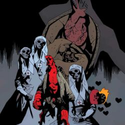 Feature: Hellboy and the B.P.R.D.: The Seven Wives Club (Mike Mignola cover)