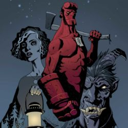 Feature: Hellboy and the B.P.R.D.: Her Fatal Hour and The Sending (Trevallion cover)