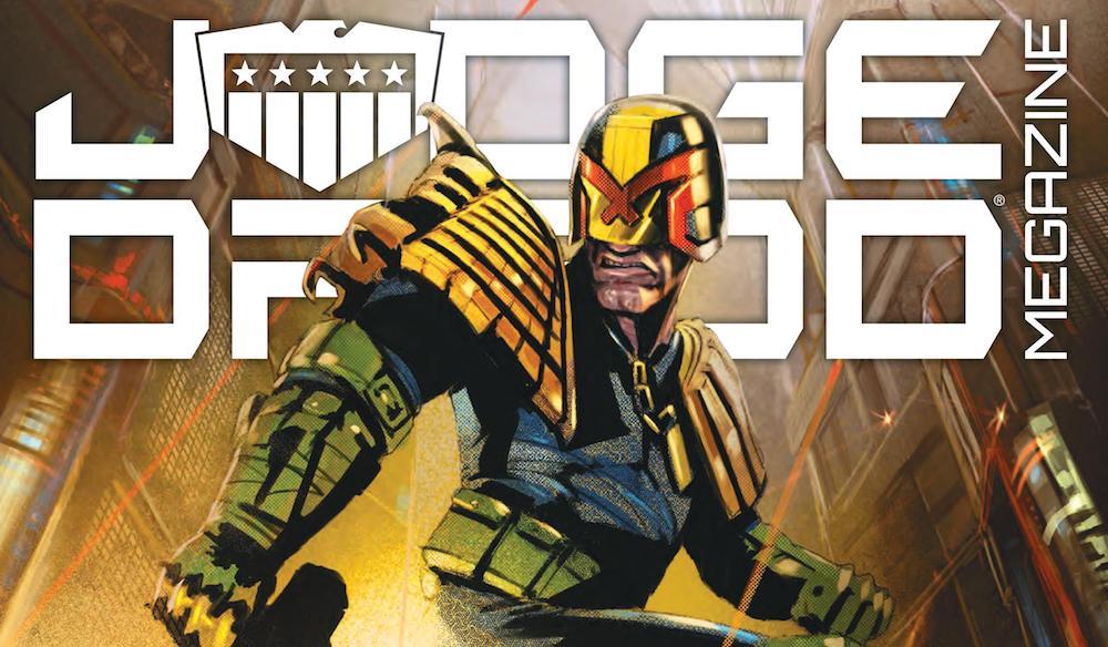 Judge Dredd Megazine 426 Featured