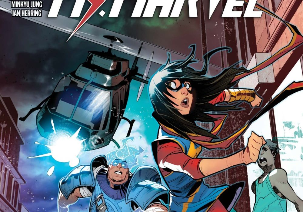 Magnificent Ms Marvel 16 featured