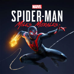 Spider-Man Miles Morales game box art