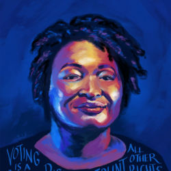 Stacey Abrams by Emily K featured