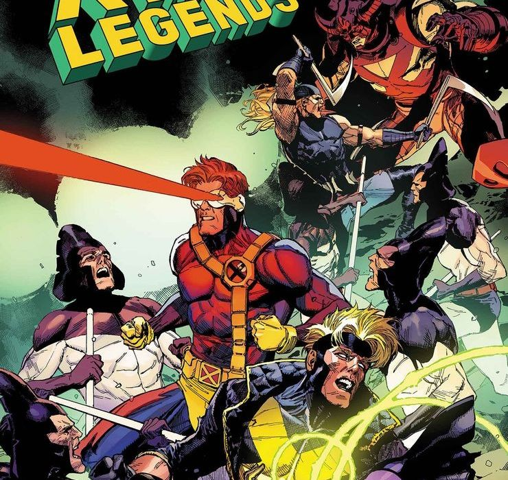 X-Men Legends #1 featured