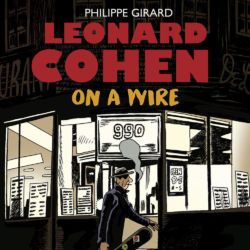 leonard cohen on a wire