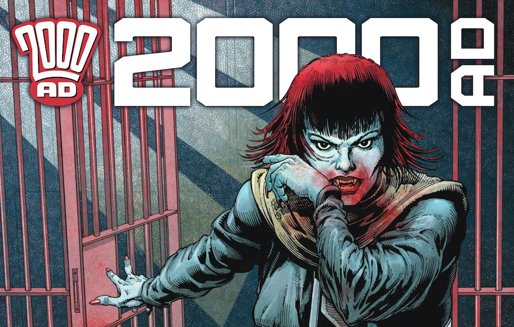 2000 AD Prog 2213 Featured