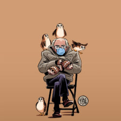 Bernie Sanders porgs Mike Maihack featured