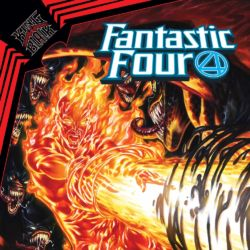 Fantastic Four issue 29 2021 cover featured
