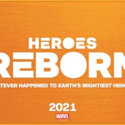 Heroes Reborn 2021 logo