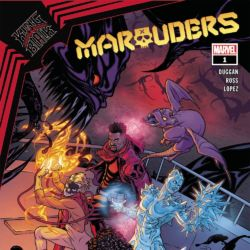 King in Black Marauders issue 1 featured