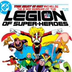 Legion of Super-Heroes issue 14 1985