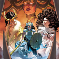 The Mighty Valkyries issue 1 featured