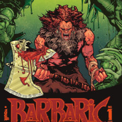 Barbaric issue 1 featured