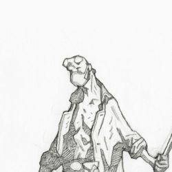 Feature: Mike Mignola: The Quarantine Sketchbook