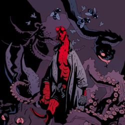 Feature: Mike Mignola print