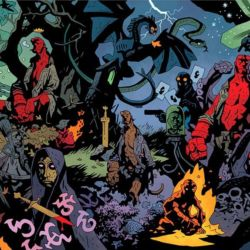 Hellboy His Life and Times cropped