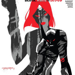 Wolverine Black White and Blood issue 4 featured
