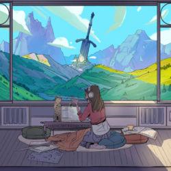 Dungeon Master by Sara Alfageeh