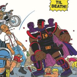 Crime Destroyer True til Death by Shaky Kane featured