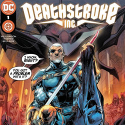 Deathstroke Inc issue 1 featured
