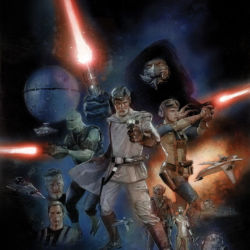 The Star Wars issue 1 featured