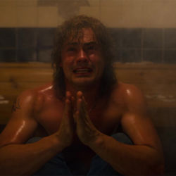 Stranger Things 3 The Sauna Test Billy pleading