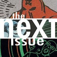 The Next Issue Podcast Widget Logo