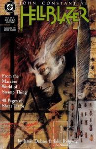 Hellblazer #1 Cover