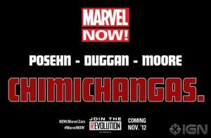 Marvel Now Deadpool Teaser Chimichangas