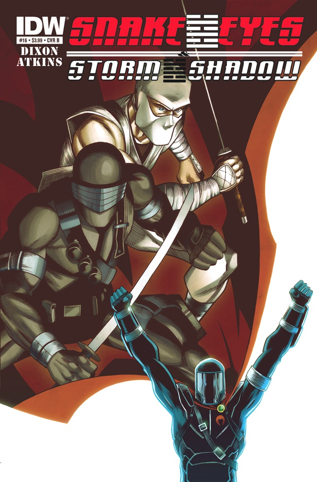 Snake Eyes/Storm Shadow #14