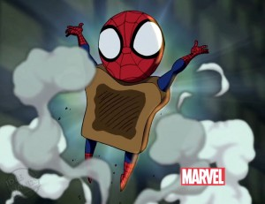 Ultimate Spider-Toast