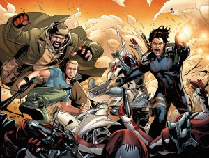 Archer and Armstrong #5 Lupacchino Variant