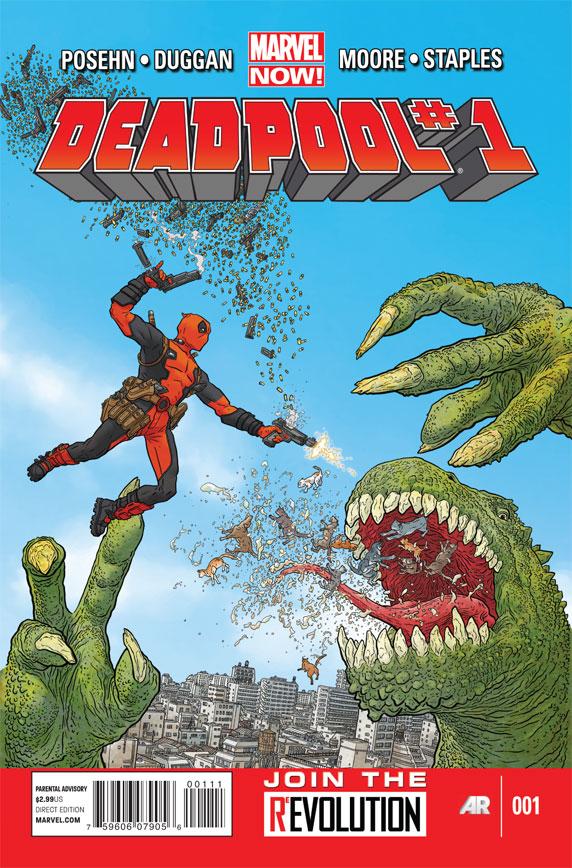 Deadpool #1 No Watermark