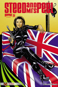 Steed and Mrs. Peel #5 Cover B